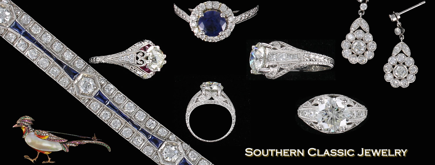 Southern Classic Antique and Estate Jewelry, Your Antique and Estate Jewelry online shopping destination with a permanent show room in the heart of AmericasMart. Find the perfect gift for that special someone, today